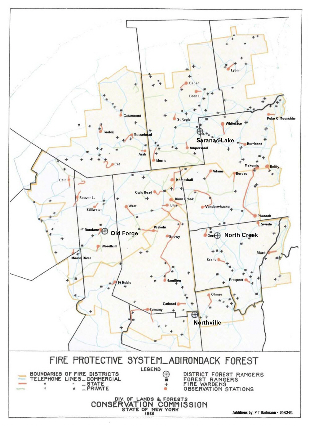 History Page  NYSFRs - Map of new york state fire districts