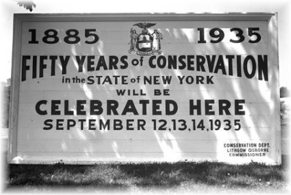 1935 Celebration of Fify Years of Conservation at Lake Placid
