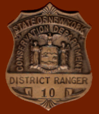 District Forest Ranger Badge worn from 1947 to 1970 - A Paul Hartmann Photo