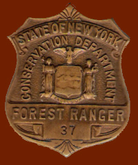 Forest Range Badge worn from 1926 to 1970 - A Paul Hartmann Photo
